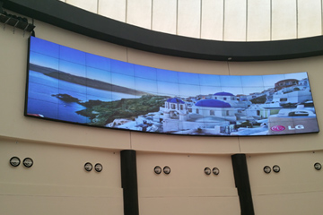 Qatar's cinema video wall&digital signage